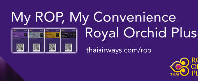 Earning Bonus Miles with Royal Orchid Plus is Easy with the Thai Airways App