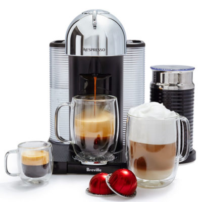 Does the Nespresso® machine give you a better cup of coffee than Espresso?