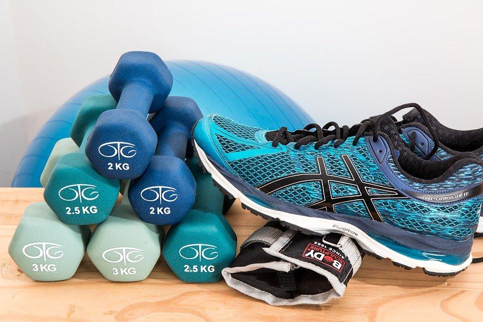 Dumbbells, Training, Fitness, Gym, Workout, Exercise