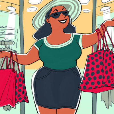 The Plus Size Canadian Shoppers Guide: 5 Tips to Look Fabulous and Save Money