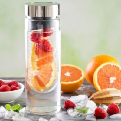 How Infuser Bottles Can Help You Drink More Water