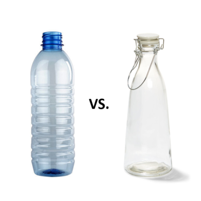 What's Better For The Environment: Plastic or Glass?